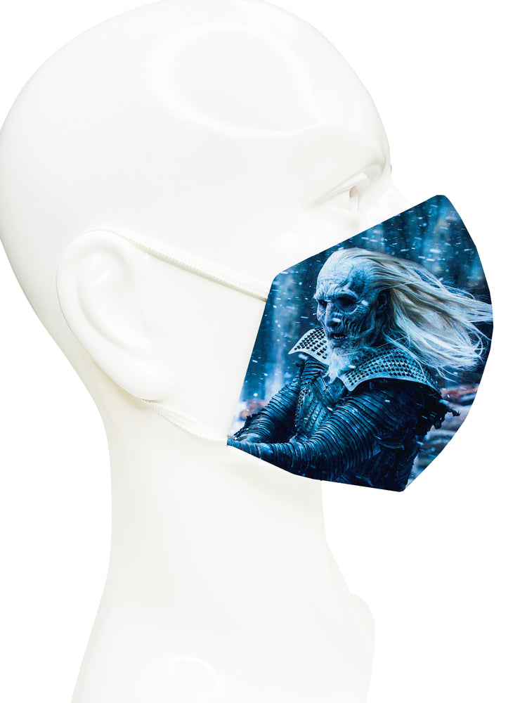 White Walker- Game Of Thrones Face Mask - Lila Nikole