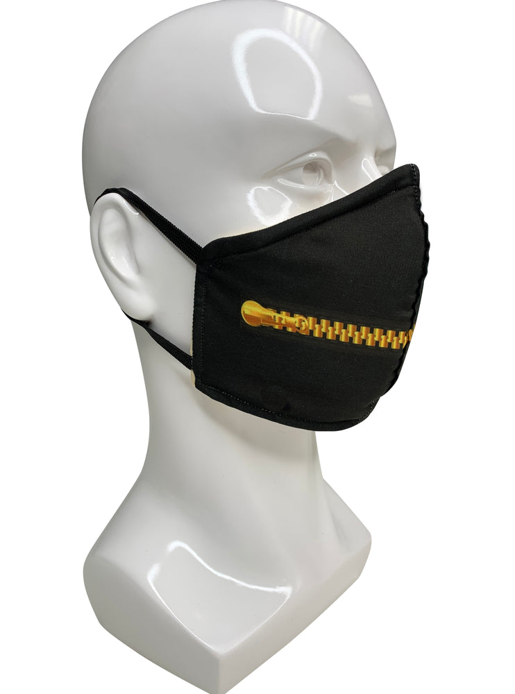 Zip it Face Mask - Lila Nikole
