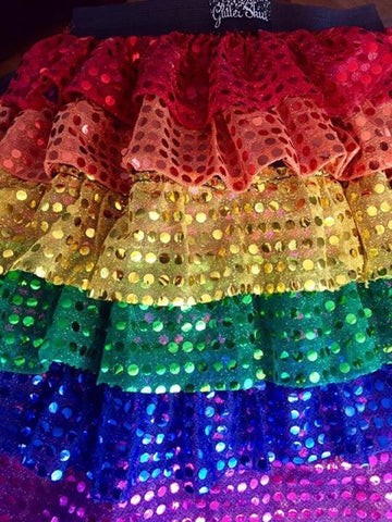 Rainbow Layer Skirt