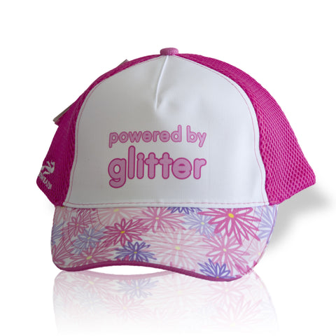 """Powered by Glitter"" Trucker Hat (Headsweats)"