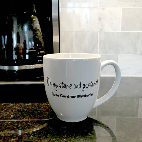 """Oh My Stars and Garters"" ceramic mug"