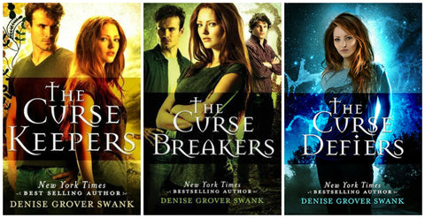 The Curse Keepers Series set--signed books