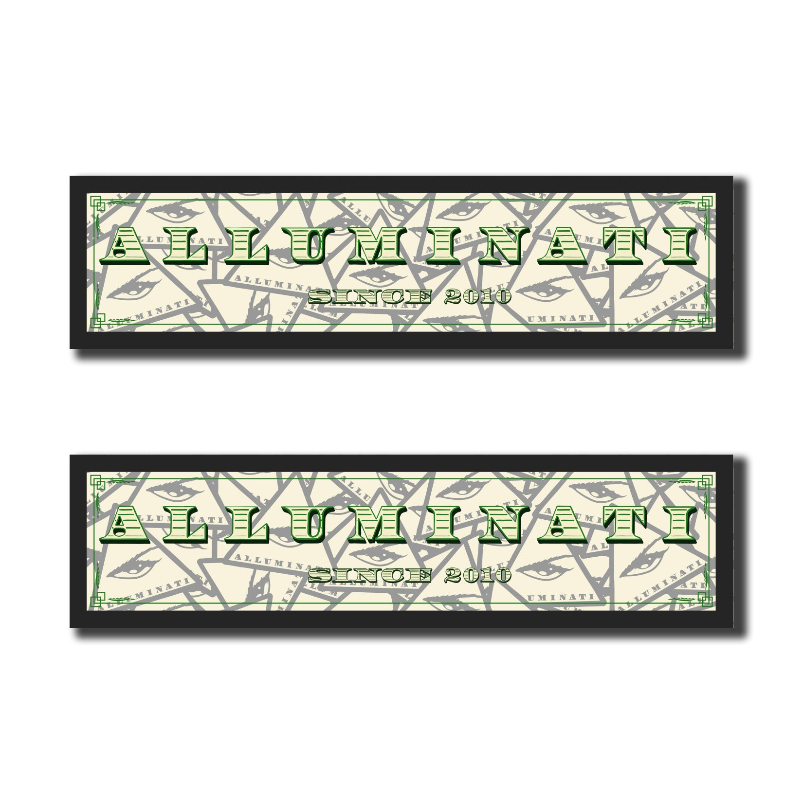 Alluminati Bumper Sticker Pack