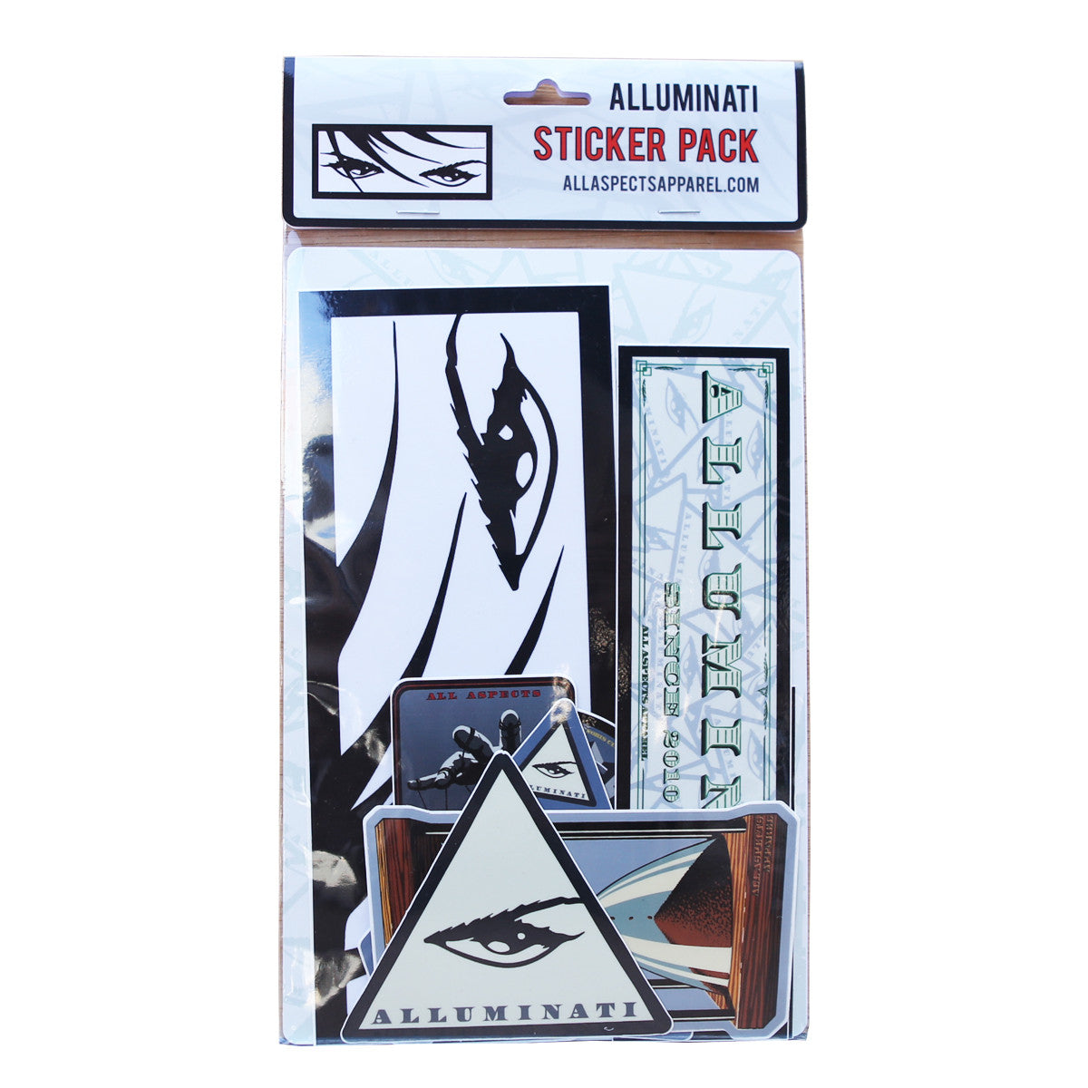 Alluminati Sticker Pack