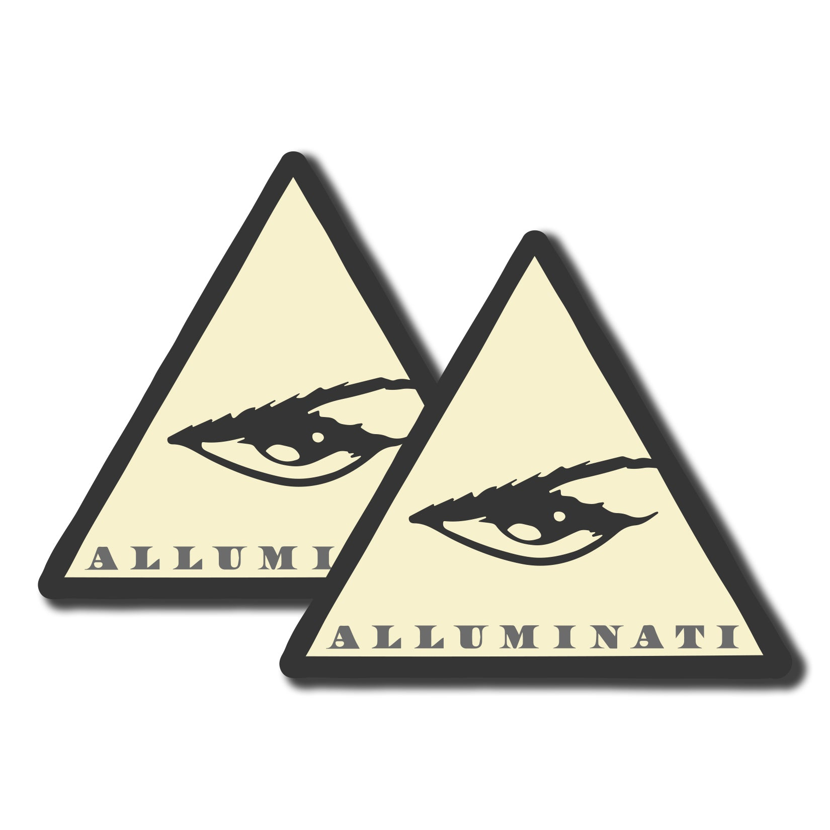 Alluminati Eye Sticker Pack