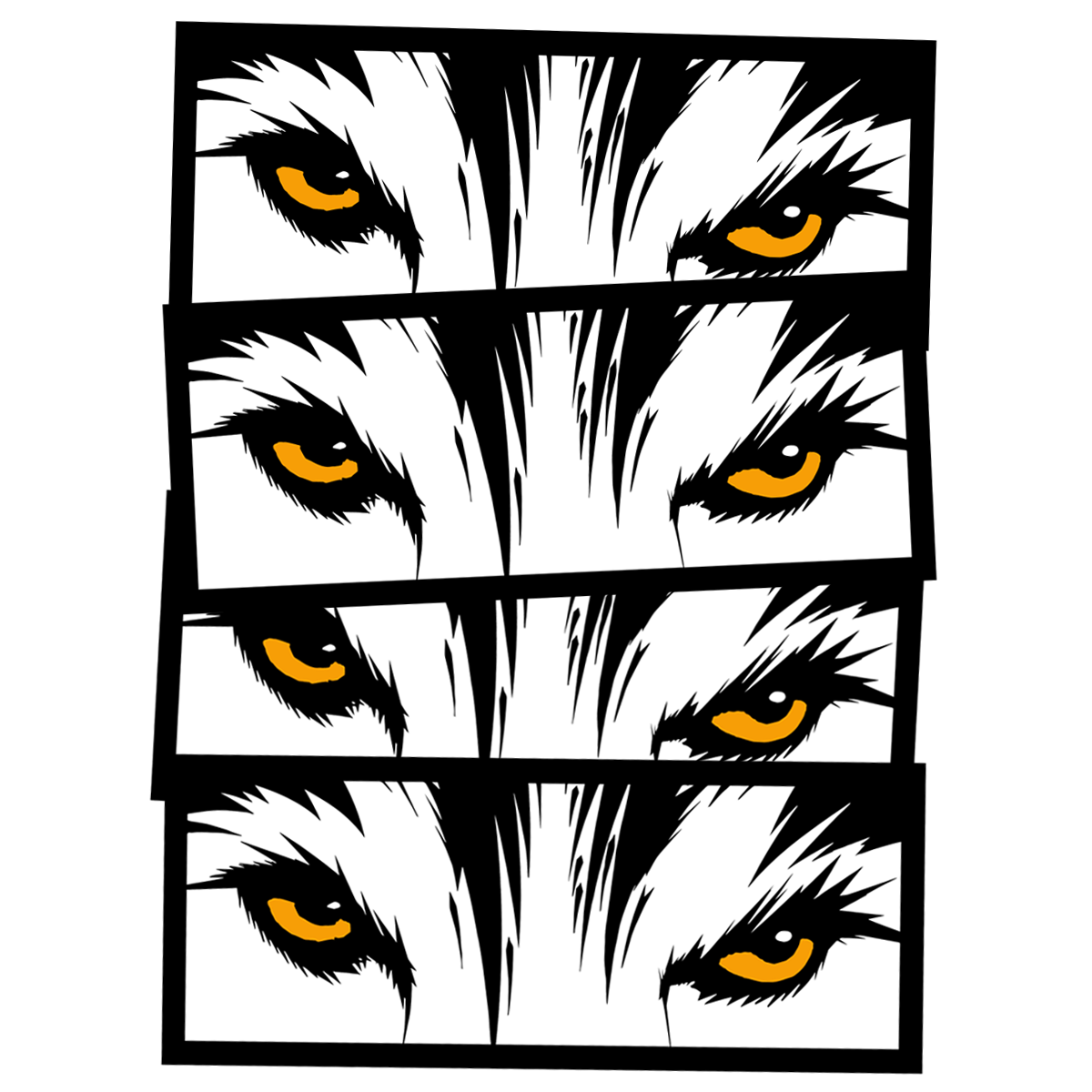 Wolf Eyes Sticker Pack