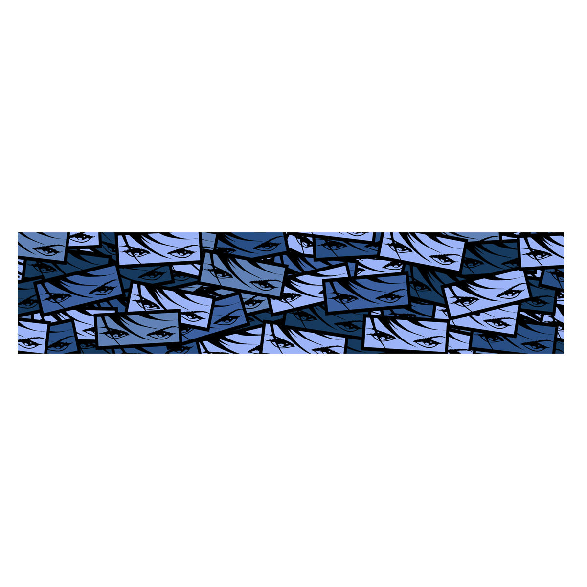 Eyes Windshield Banner - Bluescale