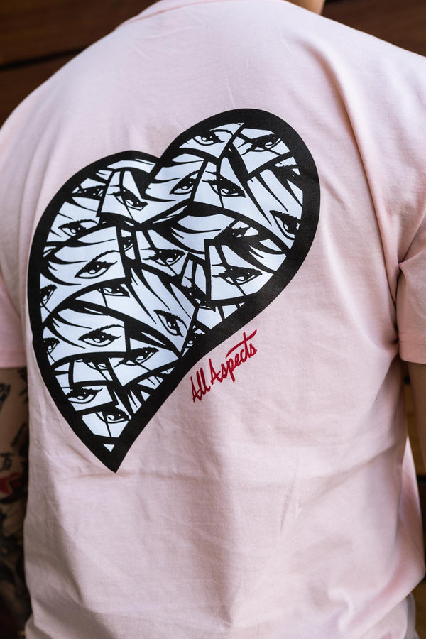 Made With Love Tee - Pink