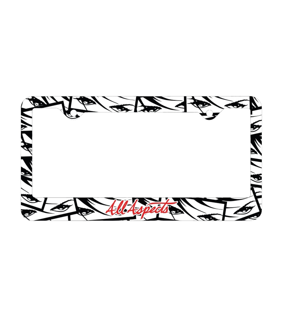 Eyes License Plate Frame - TWO