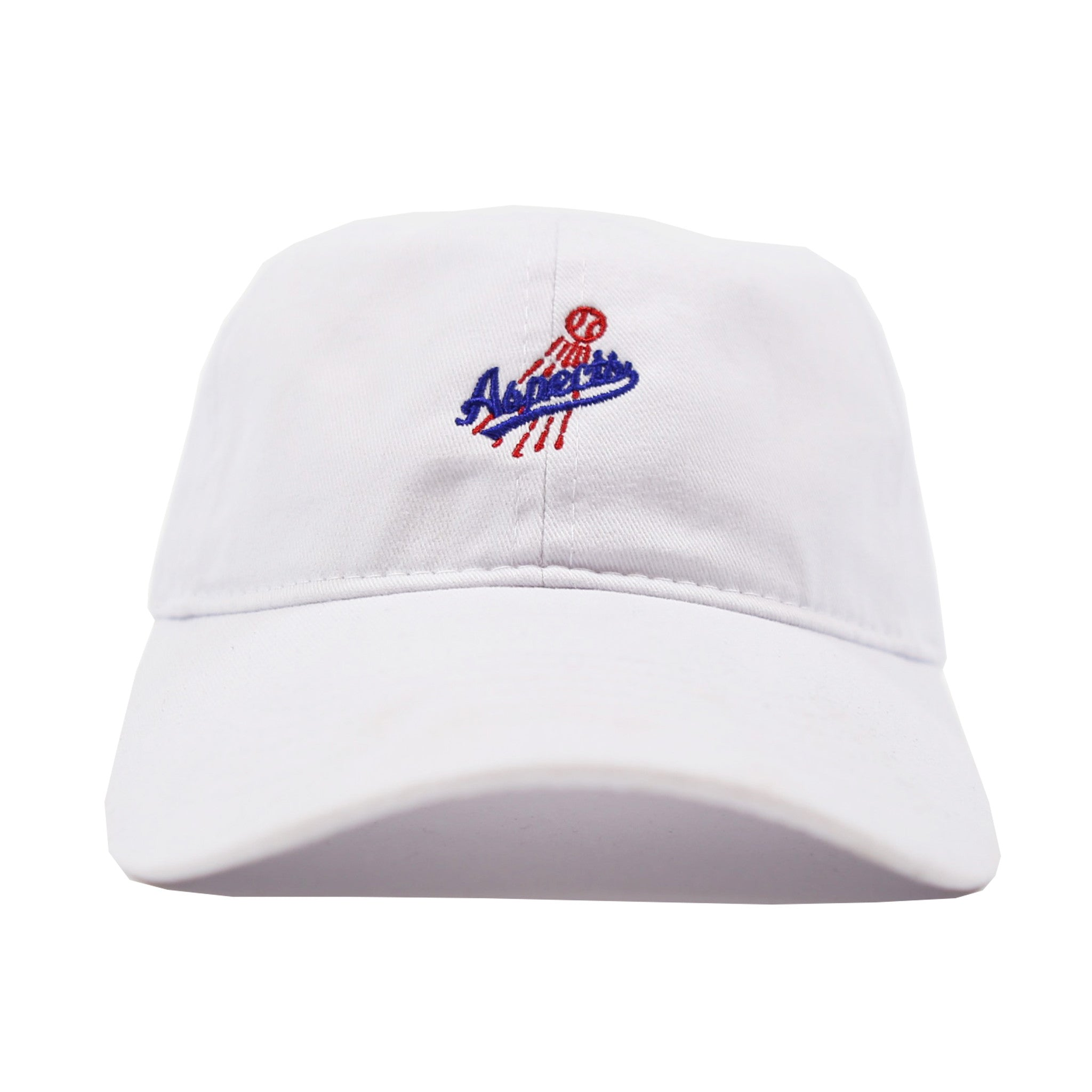 Play Ball Dad Hat - White