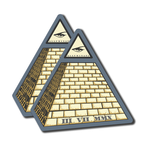 Pyramid Sticker Pack