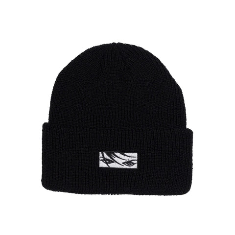 Eyes Beanie - Black