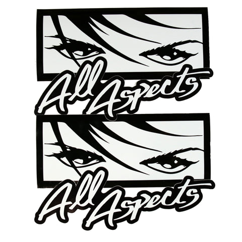 Eyes / Script Sticker Pack