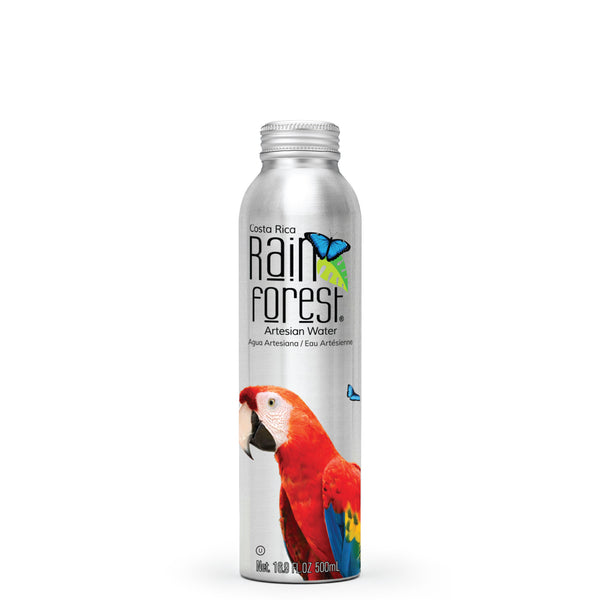RainForest Water Aluminio 500mL [Caja de 12]