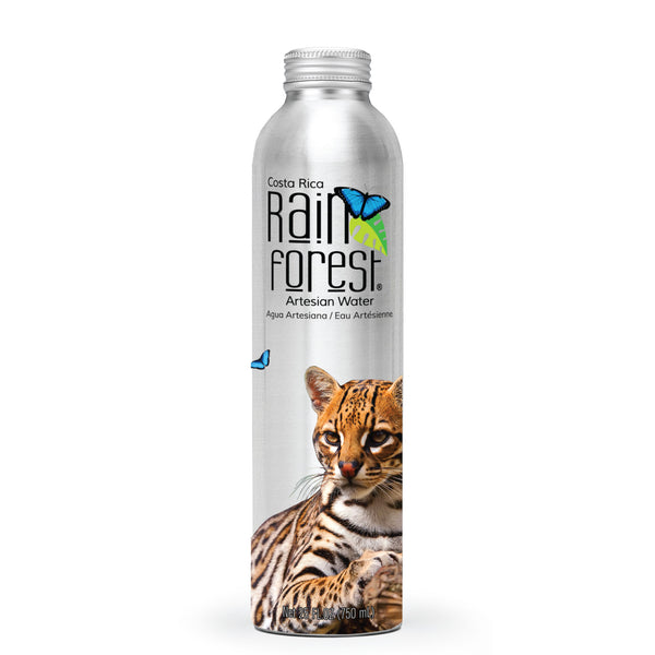 RainForest Water Aluminio 750mL [Caja de 12]