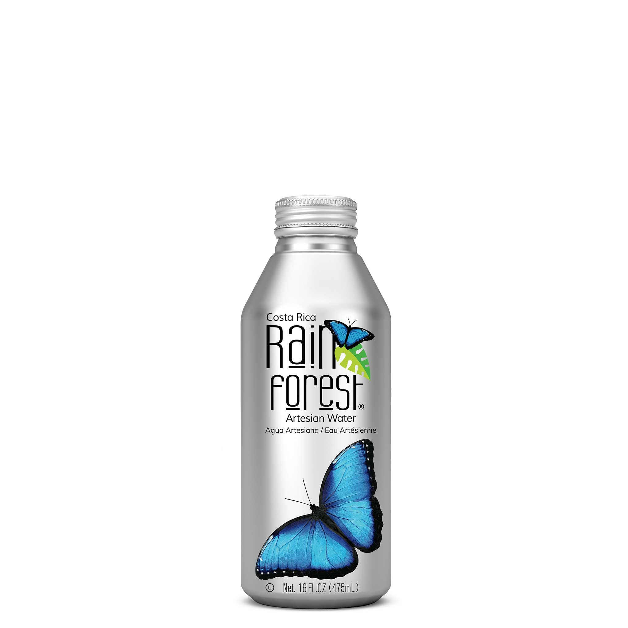 RainForest Water Bottle Can 475mL