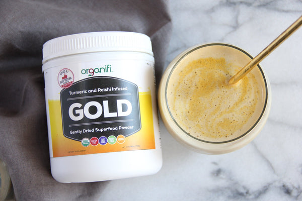 Golden Milk Protein Smoothie