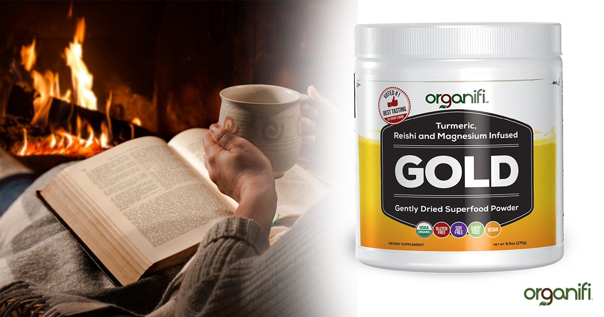"Sleep Deeper And Ramp Up Your Immune System With Organifi ""Golden Milk"" Tea"