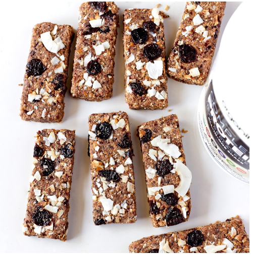 Cherry Coconut Almond Butter Bars