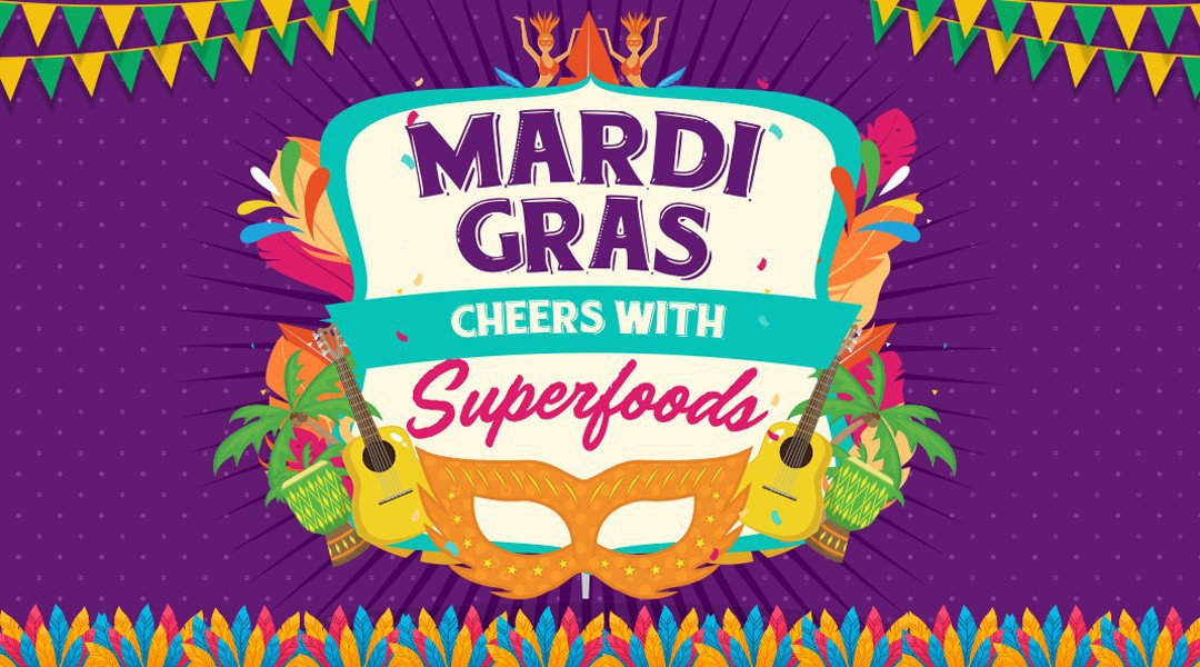 3 Classic Mardi Gras Drinks Made Healthy With Superfoods