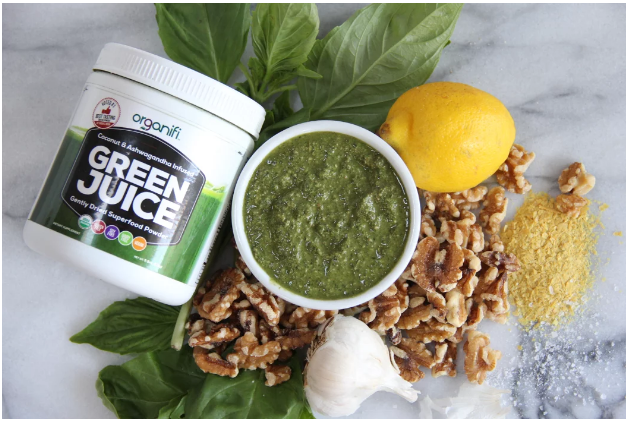 How To Make the Healthiest Super Greens Pesto Sauce