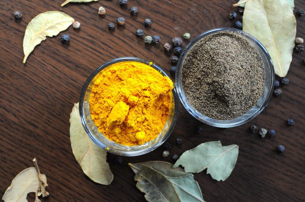 The Benefits Of Turmeric Enhanced By Black Pepper