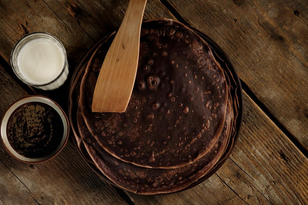 You Gotta Try These Delicious Chocolate Protein Pancakes