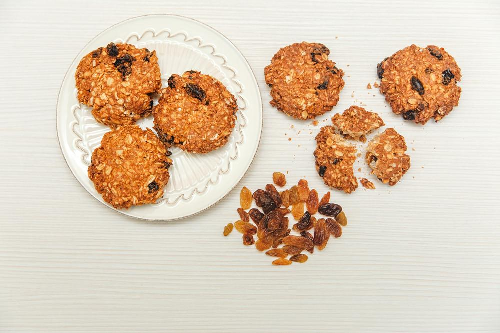 Healthy Protein-Rich Breakfast Cookies