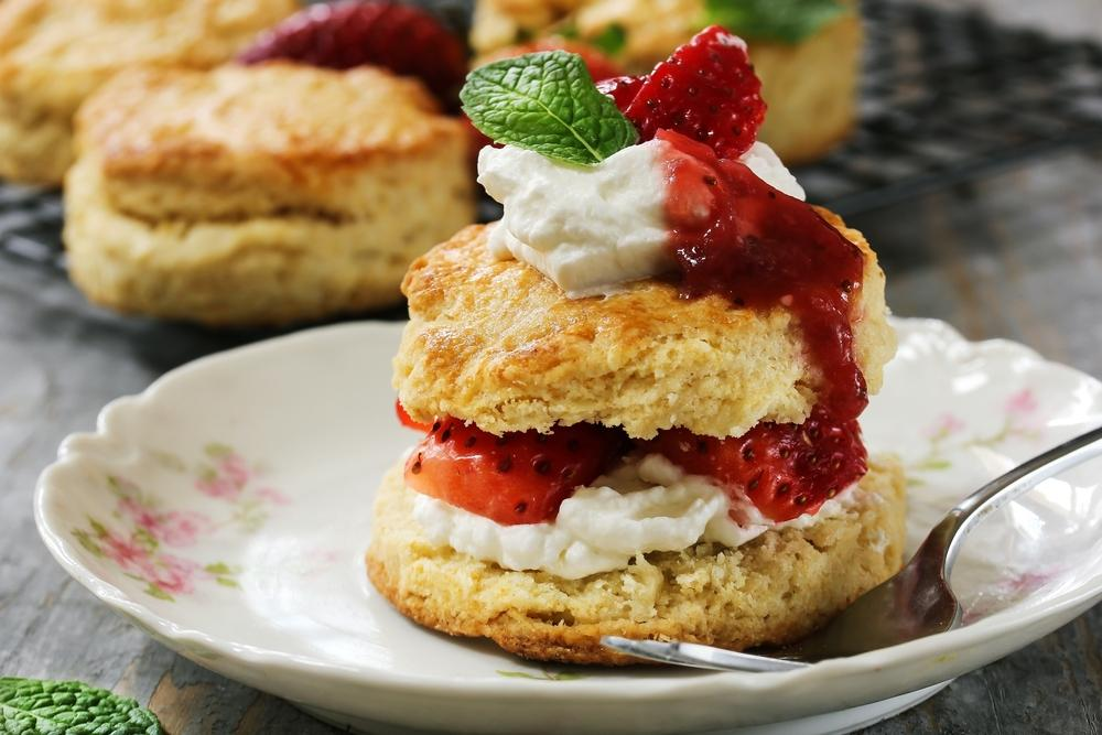 A Strawberry Shortcake That Helps Burns Fat? Yes, You Read That Right