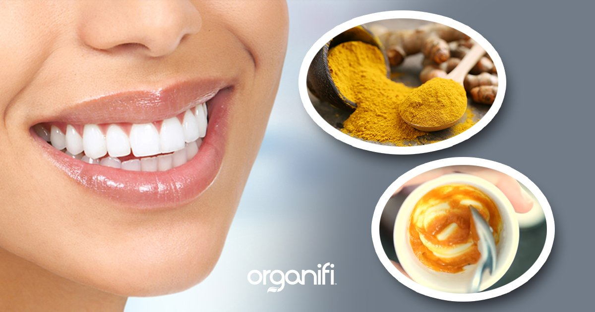 DIY: Whiten Teeth With Turmeric