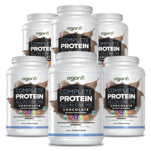 Delicious Chocolate Protein - 6 Bottles - Organifi