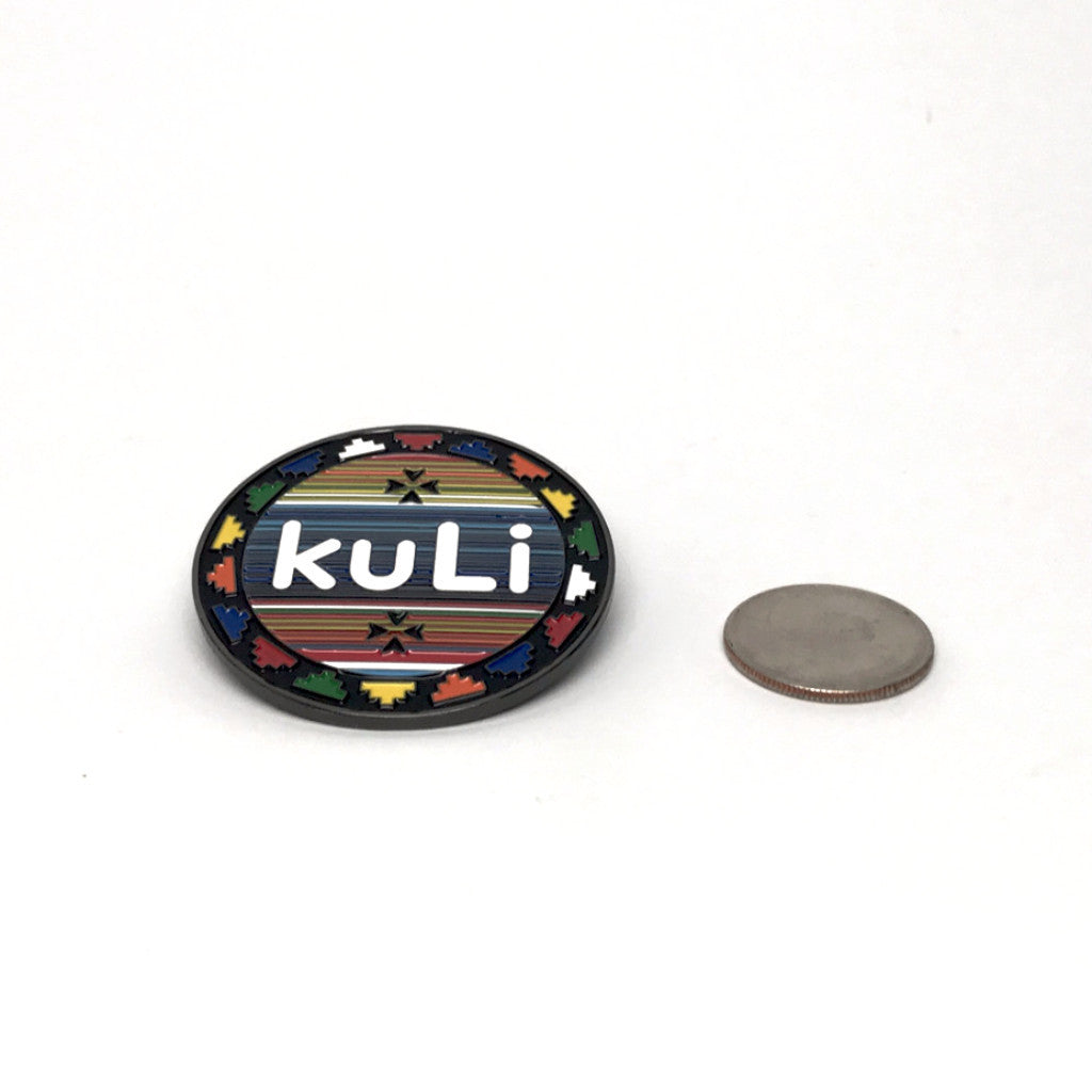 kuLi badge pin