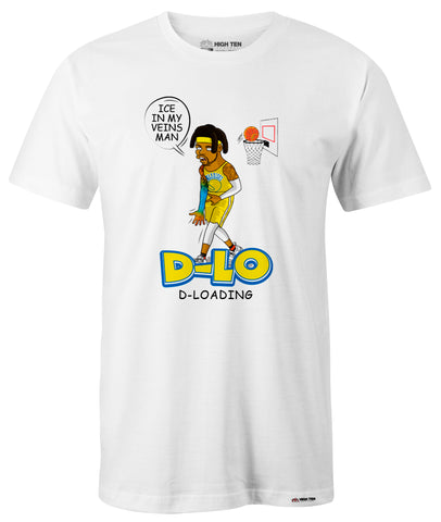 "BOOTLEG D-LO ""ICE IN MY VEINS, MAN"" T SHIRT"