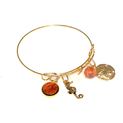 Big Island Koa Bangle Bracelet