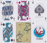 52 Plus Joker 2015 Club Playing Cards - RarePlayingCards.com - 13