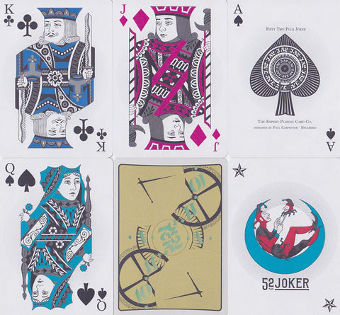 52 Plus Joker 2015 Club Playing Cards by Encarded