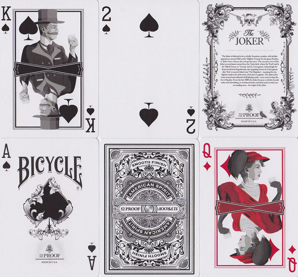 52 Proof Playing Cards - RarePlayingCards.com - 10
