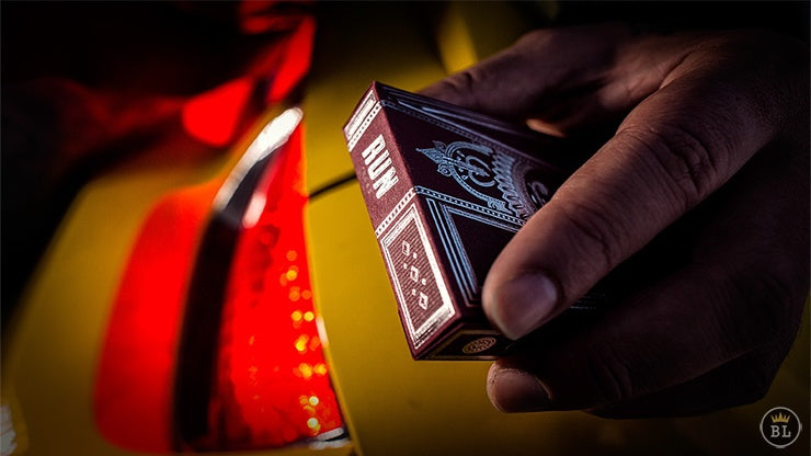 Run: Heat Edition Playing Cards by Murphy's Magic