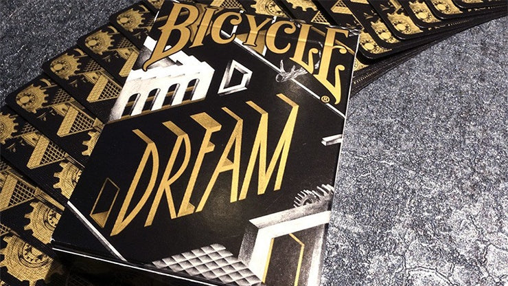 Bicycle Dream Black/Gold Playing Cards by Card Experiment