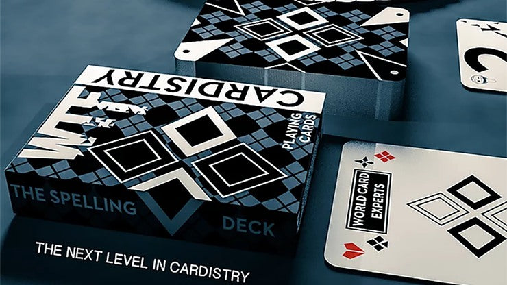 WTF Cardistry Spelling Playing Cards by De'vo