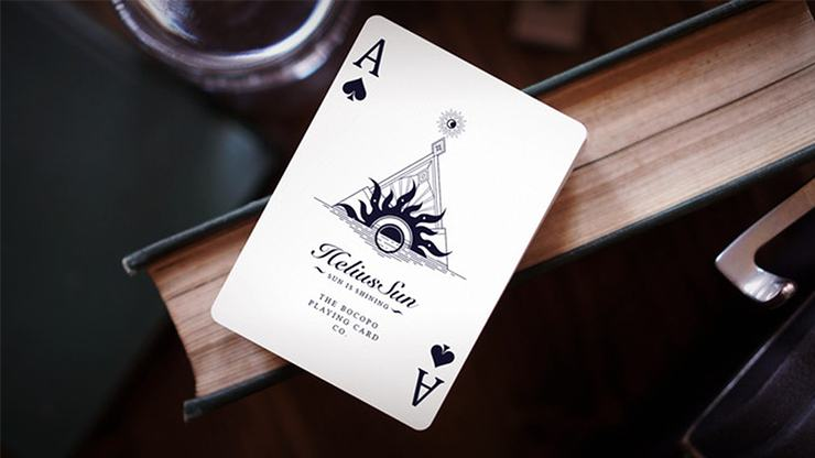 Helius Sun Classic Edition Playing Cards by Bocopo Playing Card Co.