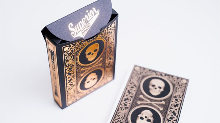 Superior Skull & Bones V2 Playing Cards by Expert Playing Card Co.