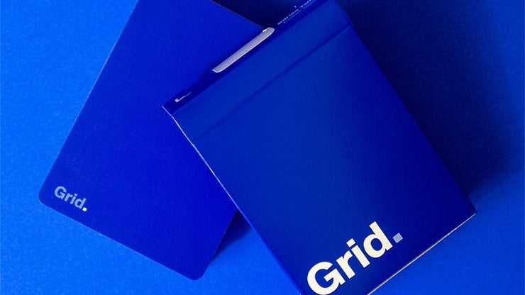 Grid Series 2 - Typographic Playing Cards by US Playing Card Co.