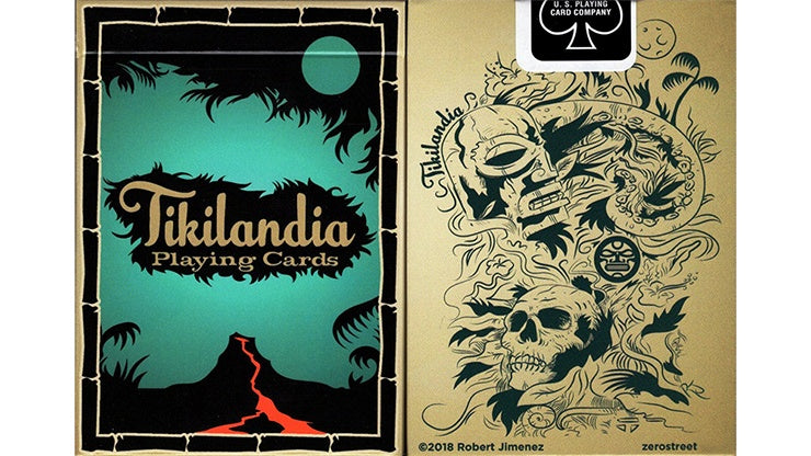 Tikilandia Playing Cards by US Playing Card Co.