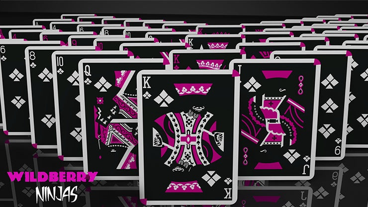 Cardistry Ninja Wildberry Playing Cards by De'vo