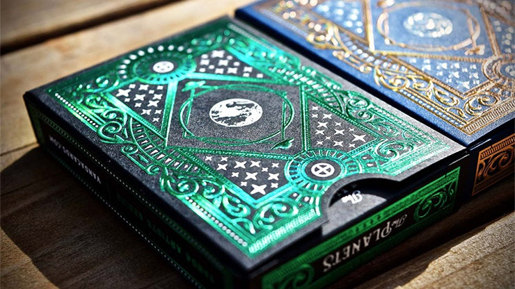 The Planets: Earth Playing Cards by Vanda