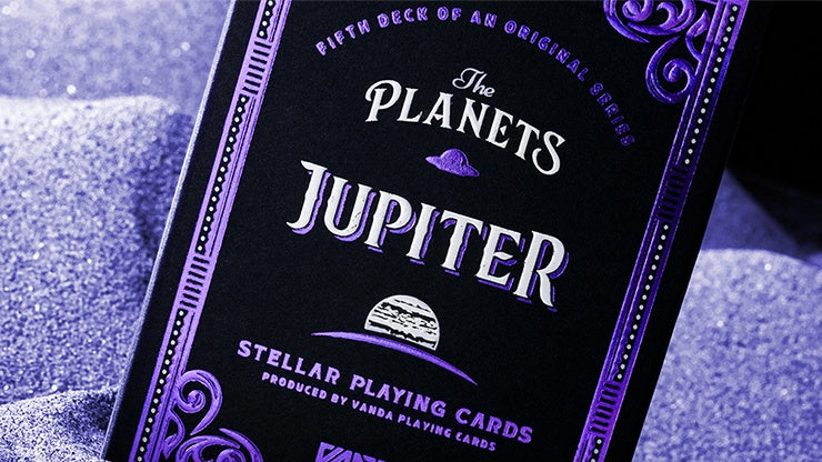 The Planets: Jupiter Playing Cards by Vanda