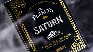 The Planets: Saturn Playing Cards by Vanda