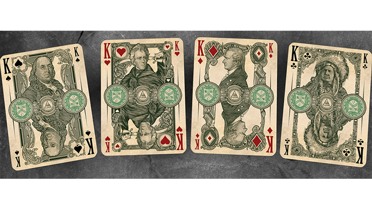 Federal 52 Second Edition Playing Cards by Kings Wild Project