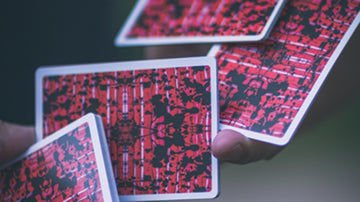 Limited Edition Untitled V2 Playing Cards by US Playing Card Co.